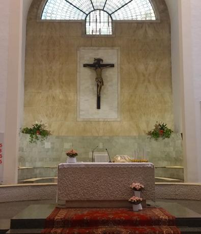 Altare Centrale San Martino